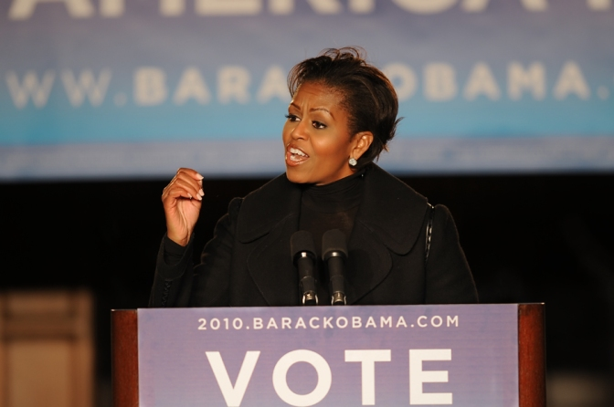 J Reads: Michelle Obama Rallies Crowd of 3,500 at Wynn Commons